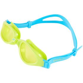 speedo Futura Plus - Lunettes de natation Enfant - vert/turquoise
